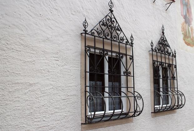 Verziertes Fenstergitter Metallbau