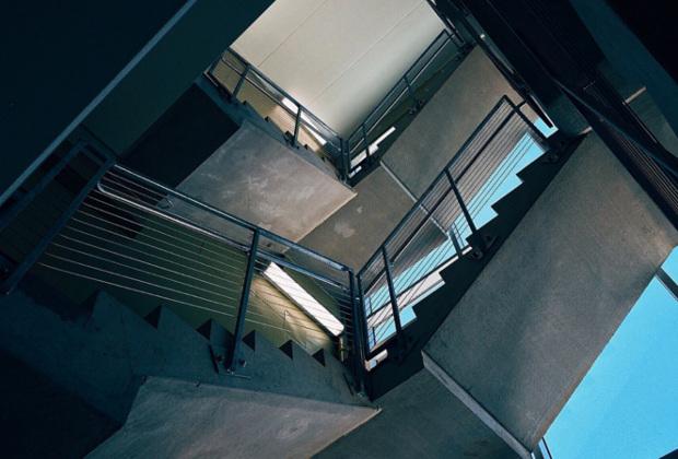 Treppengeländer auf mehrere Stockwerke