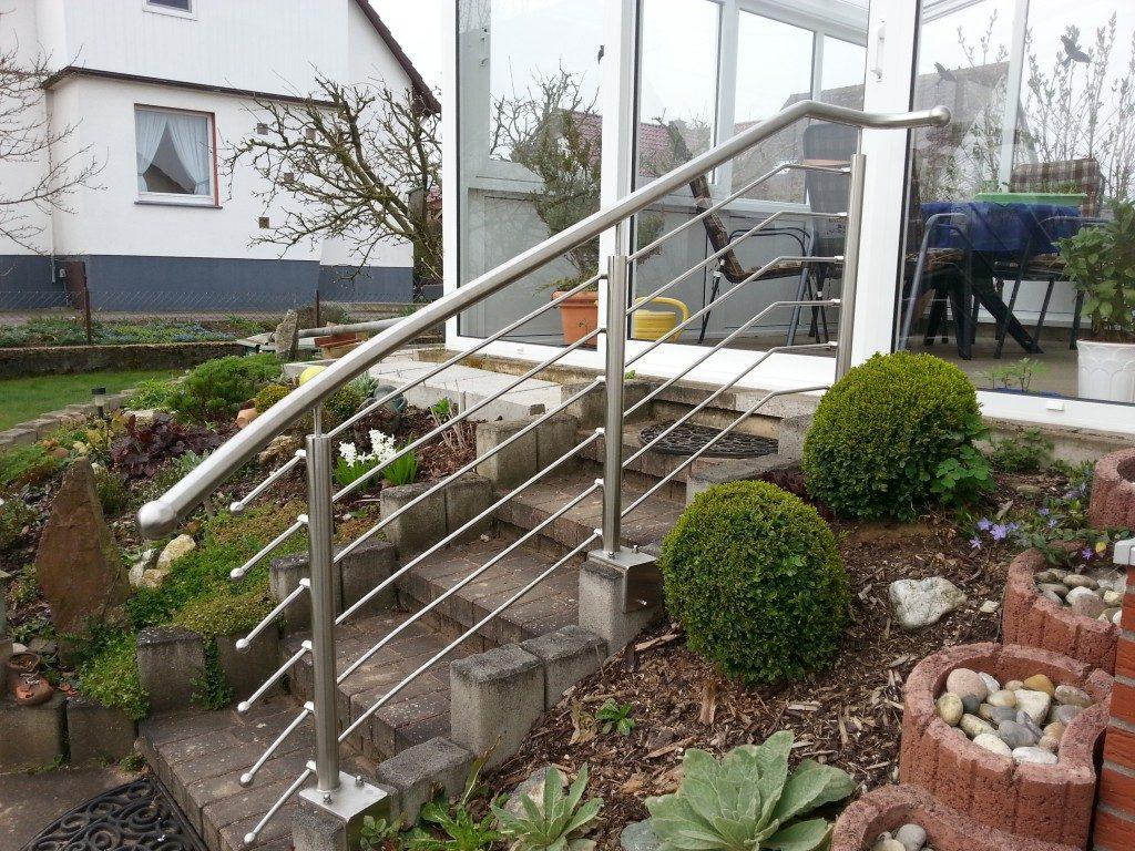 Geländer für Außenbereich Metall