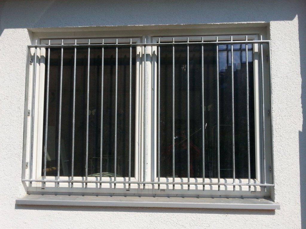 Einbruchsichere Fenstergitter