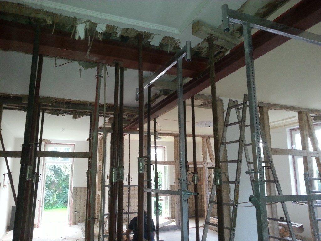 Konstruktionsbau Gerüst