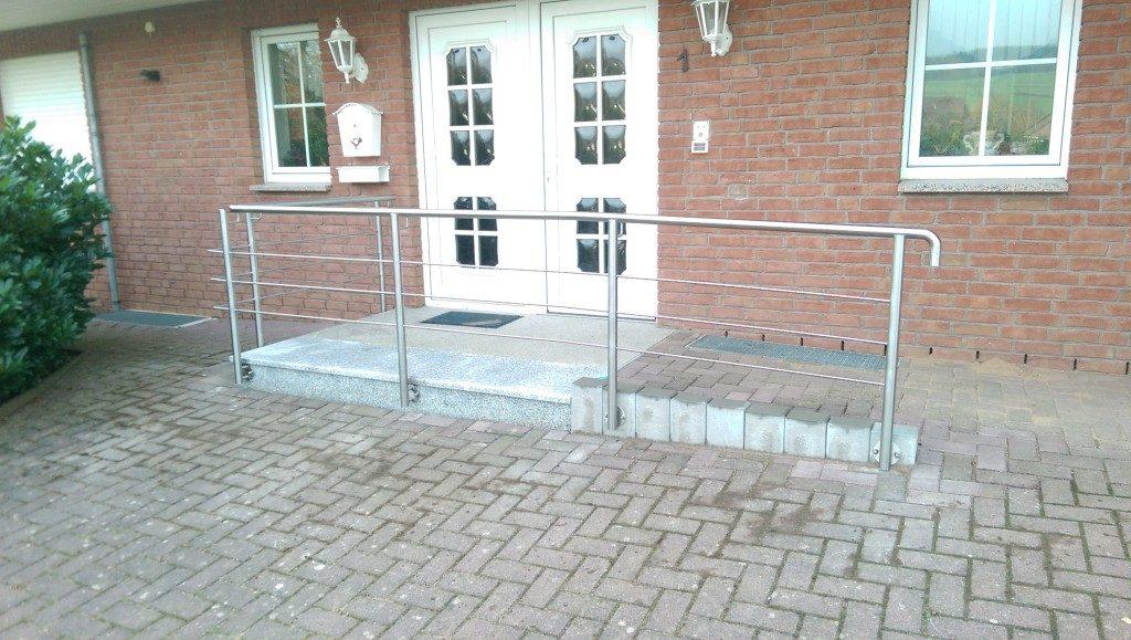 Geländer Metall
