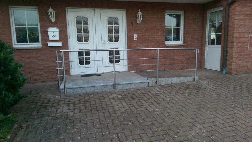 Geländer Eingang Metall