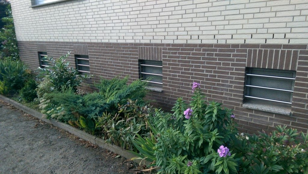 Fenstergitter für den Keller
